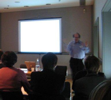 Workshop Instructor Richard Brereton