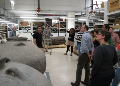 Tour of Field Museum storage by workshop instructor Mark Golitko