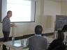 Workshop instructor Patrick Degryse
