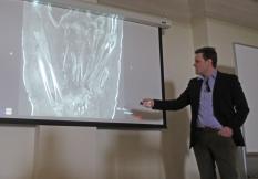 Workshop instructor Marc Walton