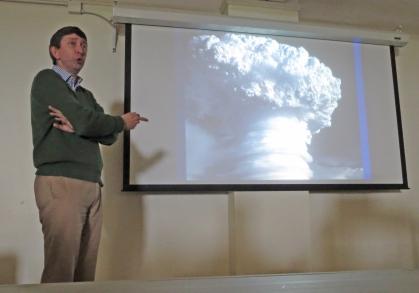 Workshop instructor Andrew Shortland