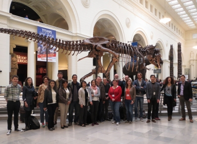 Workshop participants at the Field Museum