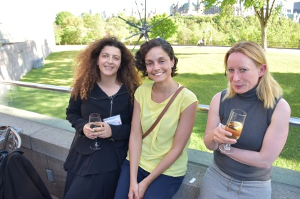 Ester Ferreira, Federica Pozzi, and Elke Cwiertnia at NG