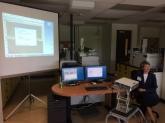 Jenny Poulin in Workshop at CCI